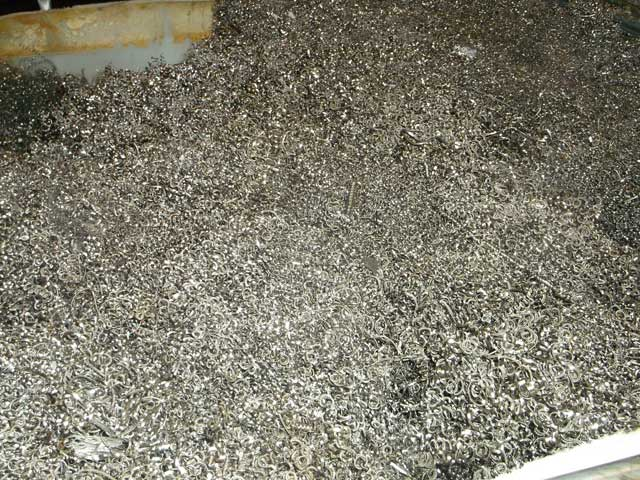 Stainless Steel Shavings