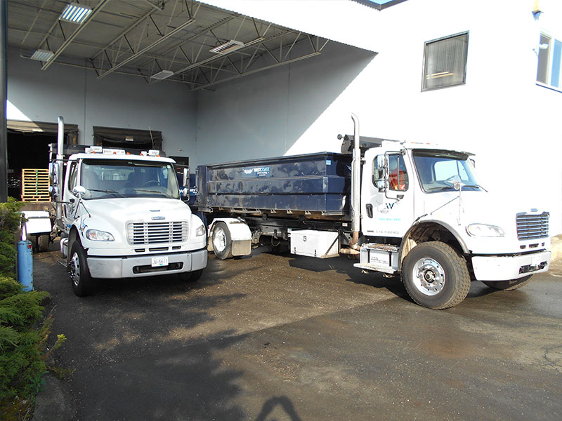 West Coast Metal Recycling Trucks