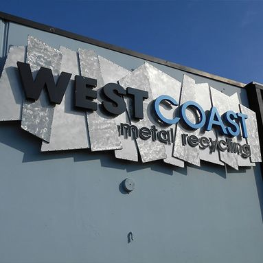 West Coast Metal Recycling Logo